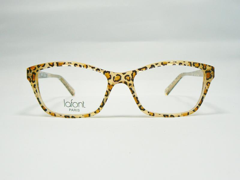 Original Jean Lafont Brille Brillenfassung Oceane Farbe 380 Leoprint ...