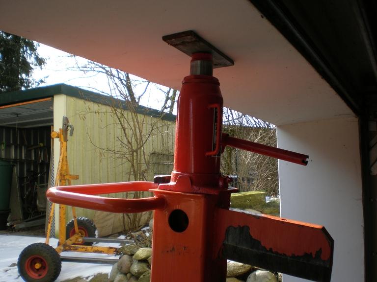 Prächtig Spaltsäule reparieren ATIKA ASP 11 N Benzinholzspalter, 11 T &MV_79