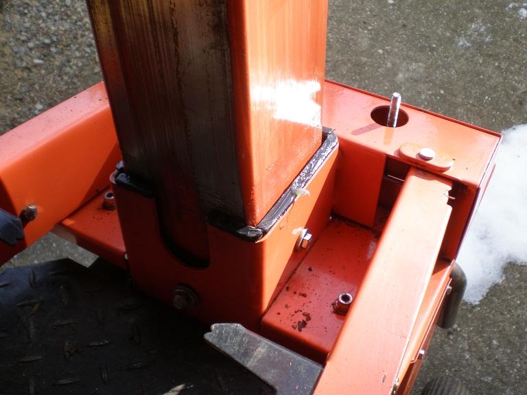 Berühmt Spaltsäule reparieren ATIKA ASP 11 N Benzinholzspalter, 11 T &IS_96
