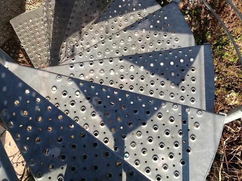 Hervorragend Treppe als Verbindung zwischen Balkon und Garten - Mein schöner OK36