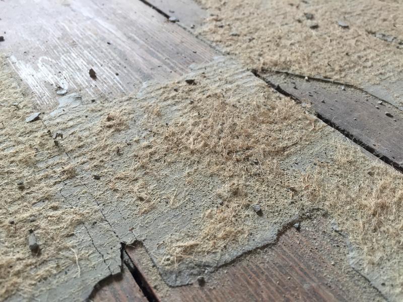 Gut bekannt Asbesthaltiger Boden und Kleber? - HaustechnikDialog MG92