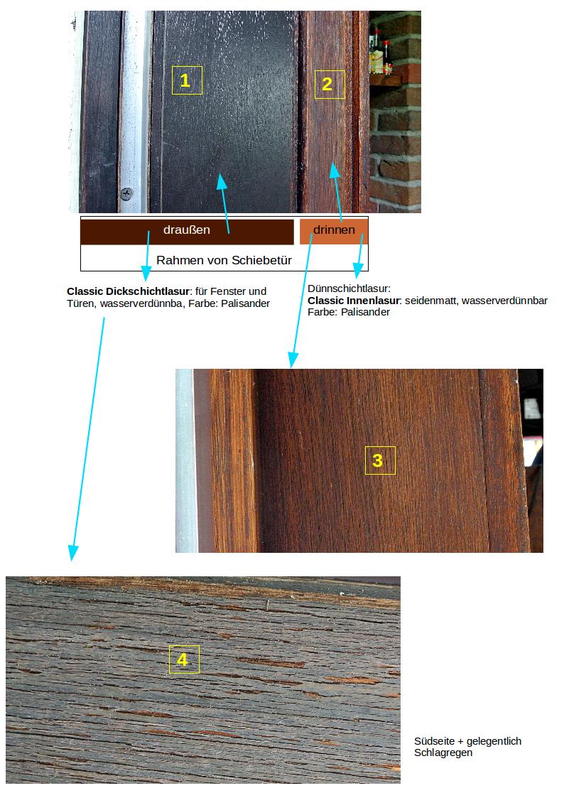 Gut gemocht angegriffene Fensterrahmen optimal behandeln WK59