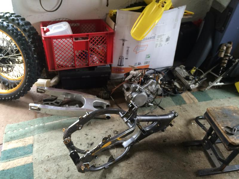RM 125 Big Bore 144 EG + Lectron HV update - Bike Builds