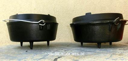 Petromax Dutch Oven Generationen – nicht kompatibel…