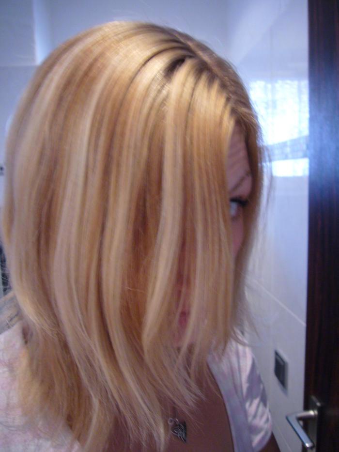 Aschblond über blondierte Haare färben? - Haare: Haarforum.de
