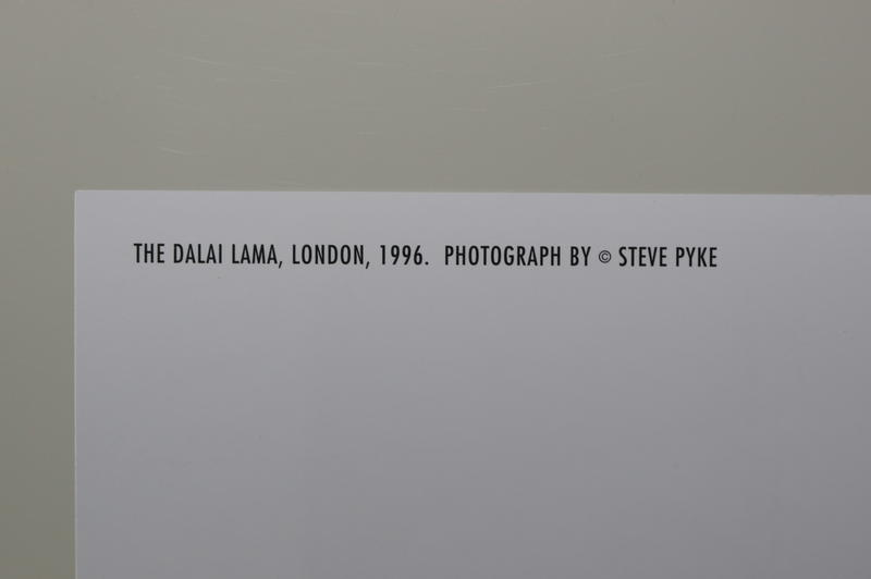 The Dalai Lama by Steve Pyke  Kunst-Postkarte