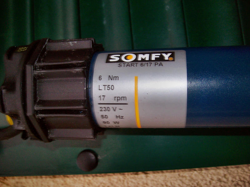 Häufig Ersatz für Somfy-Rohrmotor 6/17 PA - HaustechnikDialog PH53