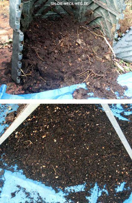Gartenkalender Februar – Kompostwelten – Wurmuniversen…