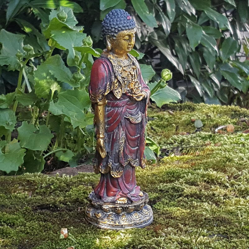 buddha deko figur buddhismus skulptur feng shui statue joga gl ck budda asien ebay. Black Bedroom Furniture Sets. Home Design Ideas