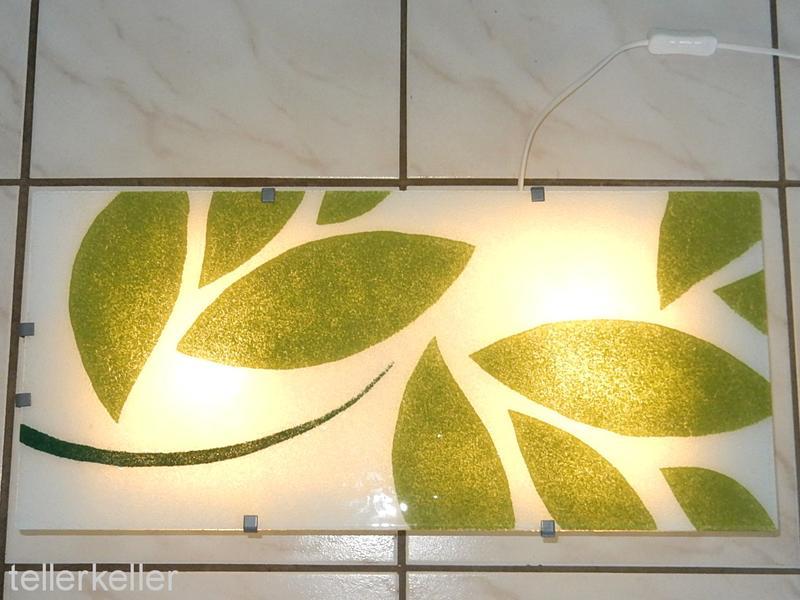 Ikea Wandleuchte ikea gyllen wandle le grün blätter wandleuchte le leuchte