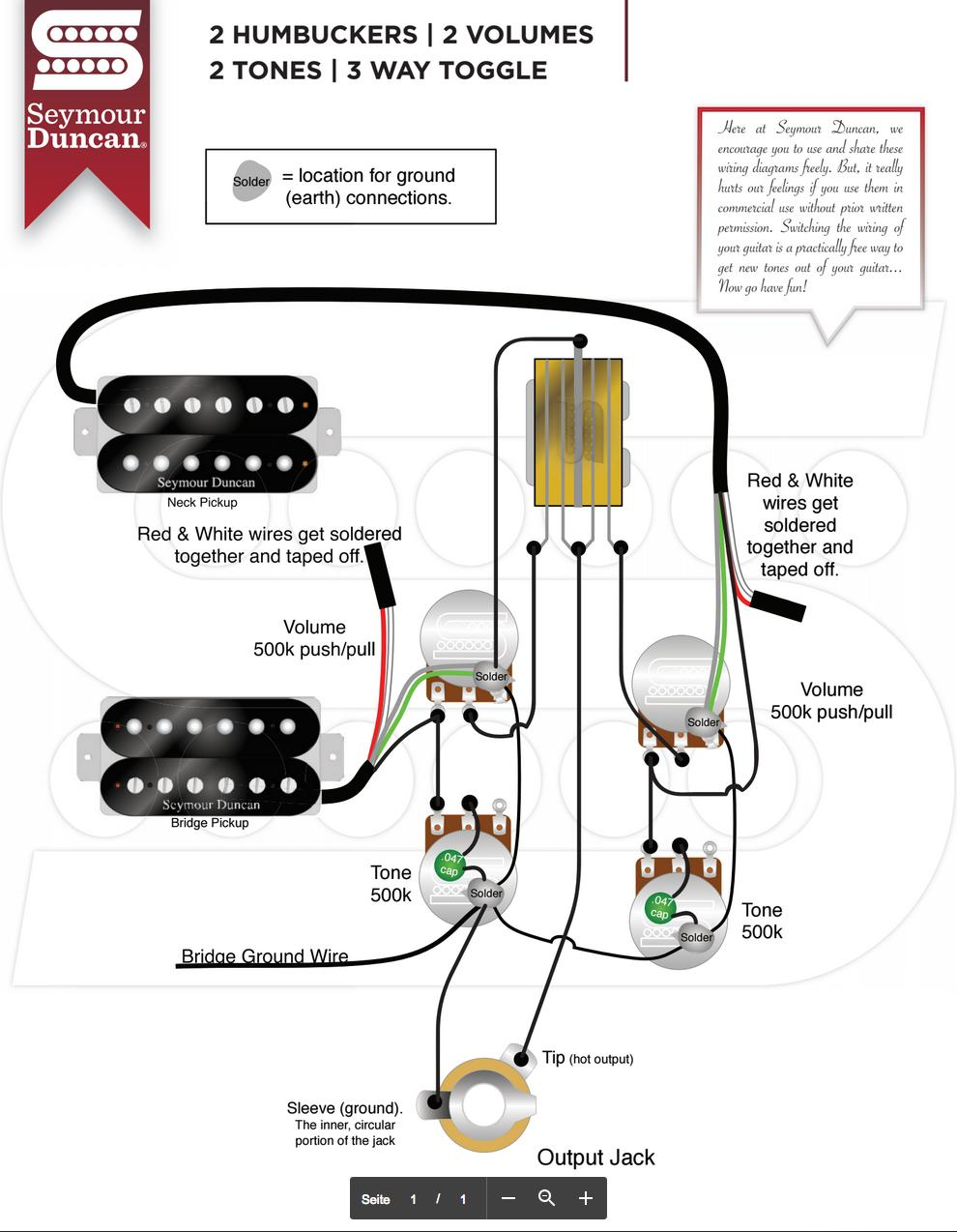 Wiring Diagram Es 335 Page 3 And Schematics Gibson Guitar Diagrams Dirty Fingers Pickup Schematic White Pick