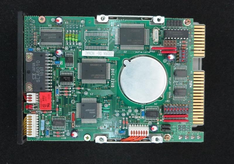 nec d3142 mfm 3 5 zoll inch hard drive disk festplatte 44. Black Bedroom Furniture Sets. Home Design Ideas
