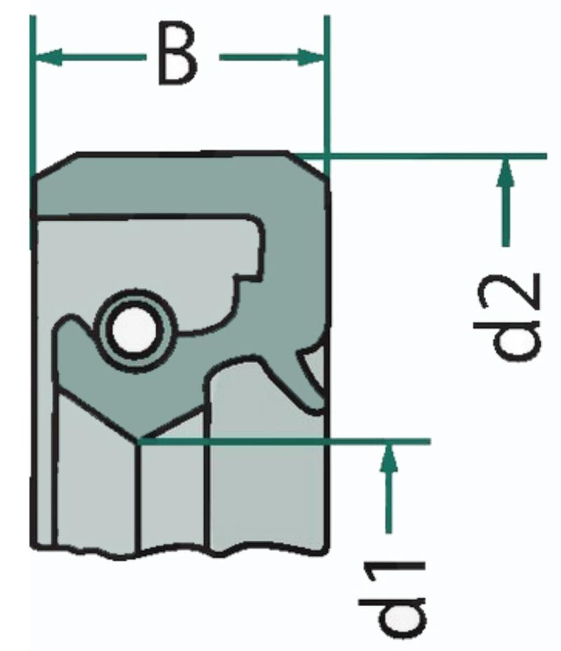 1x NBR Wellendichtring Simmerring 18x38x7-18//38//7  mm AS//WAS //BASL//TC