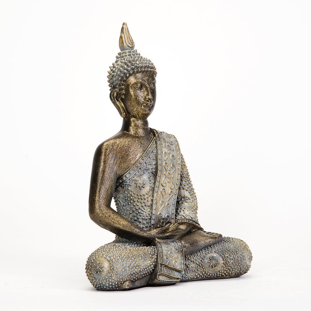 Thai buddha deko figur buddhismus skulptur budda statue - Feng shui deko ...