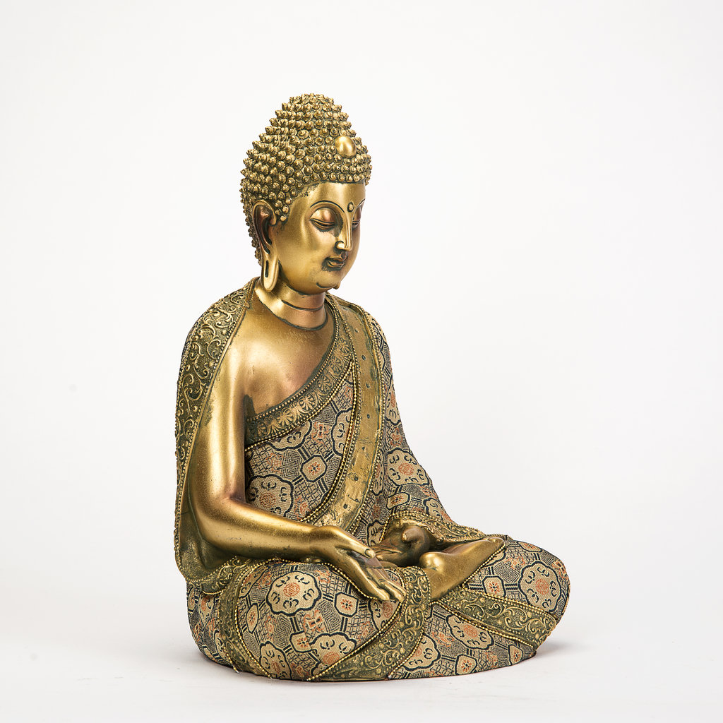 thai buddha deko figur buddhismus skulptur budda statue. Black Bedroom Furniture Sets. Home Design Ideas