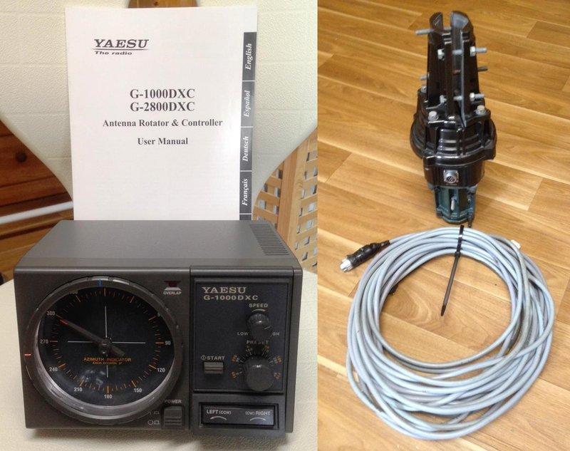 Rotor G-1000DXC Yaesu