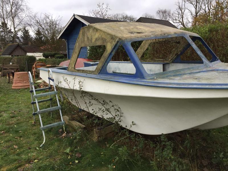 Hervorragend Boot restaurieren wer kann......   Anglerboard UC72