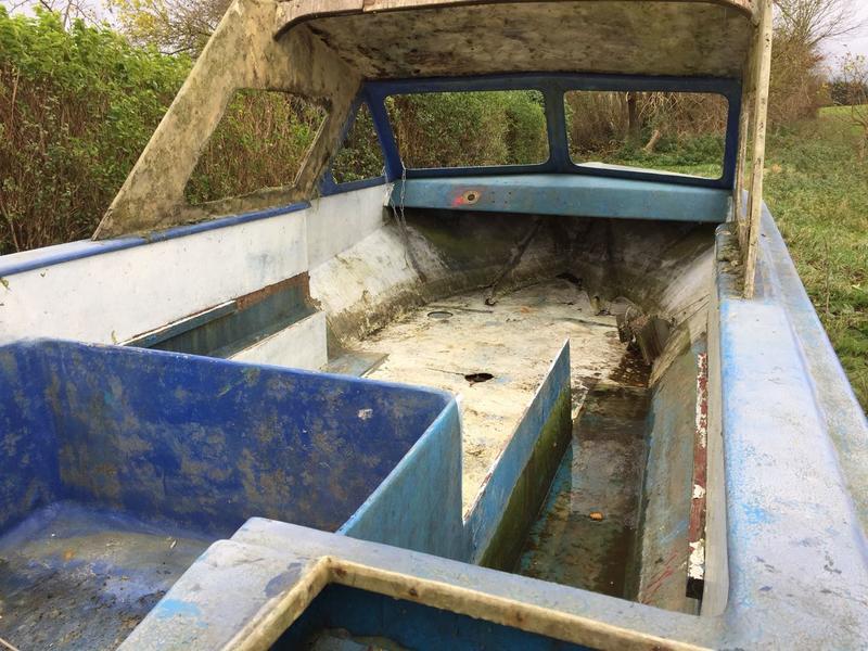 Berühmt Boot restaurieren wer kann......   Anglerboard OD07