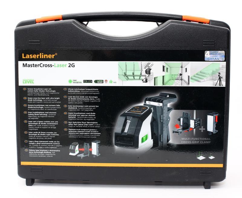 Laser Entfernungsmesser Laserliner : Laserliner mastercross laser g grüner kreuzlinien