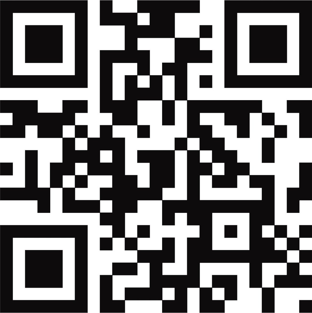 qr code autoaufkleber wei schwarz gr 30 x 30 cm. Black Bedroom Furniture Sets. Home Design Ideas