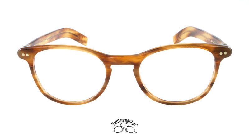 Original Lunor Brillenfassung A6 Mod. 246 Farbe 03m havanna hell matt OcFWEI
