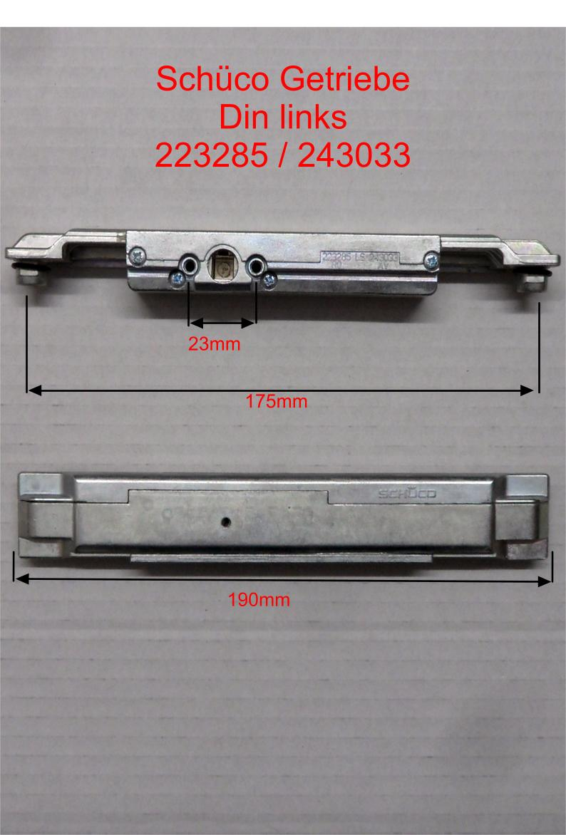 sch co fenstergriff reparaturset aluminiumfenster getriebe. Black Bedroom Furniture Sets. Home Design Ideas