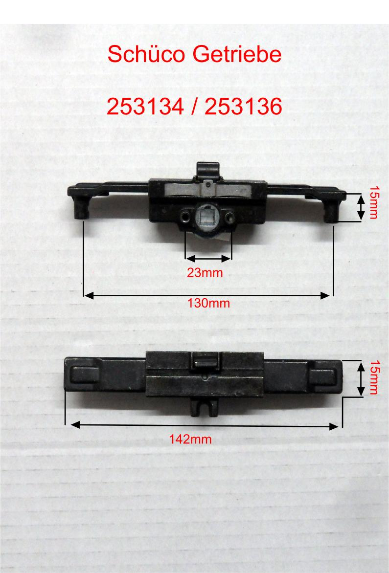 Schüco Getriebe Kammergetriebe 253136 Kunststofffenster