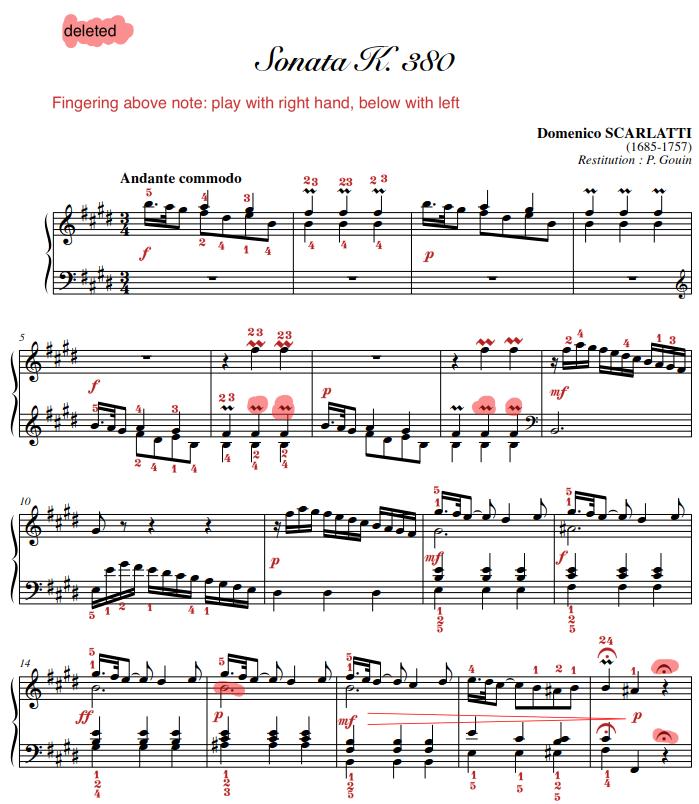 Music Scores Pdf