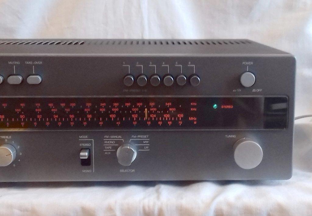 Wega R3140 HiFi Receiver WERKSTATTGEPRÜFT - Stereo-Receiver Wega R ...