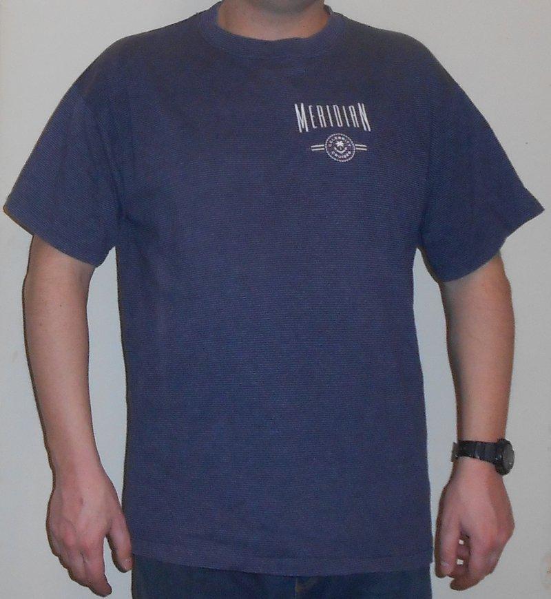 Meridian T-Shirt L - XL Celebrity Cruises Blau Made in the U.S.A. ...