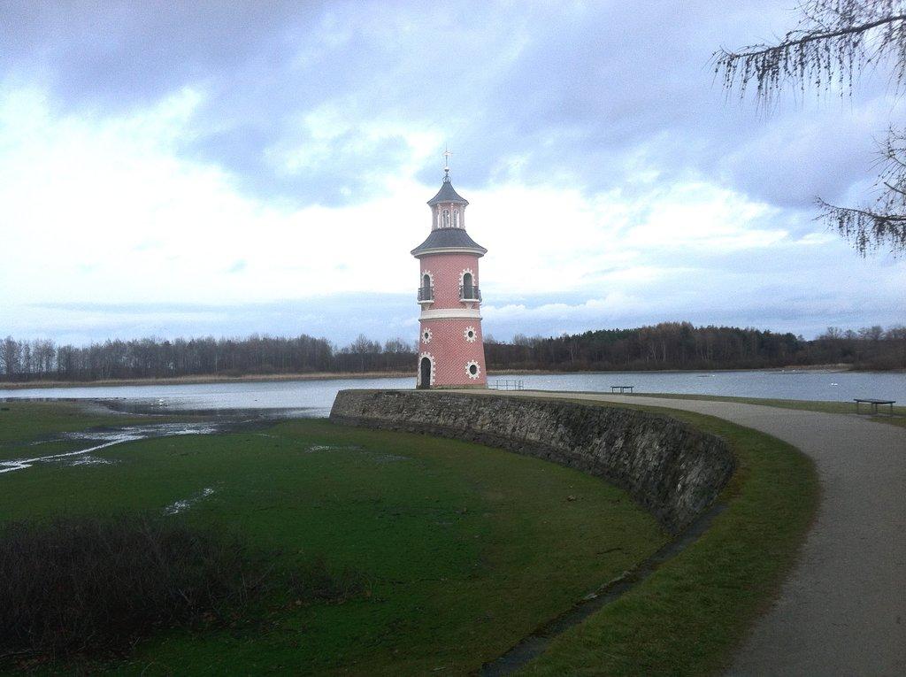 Leuchturm im Binnenland