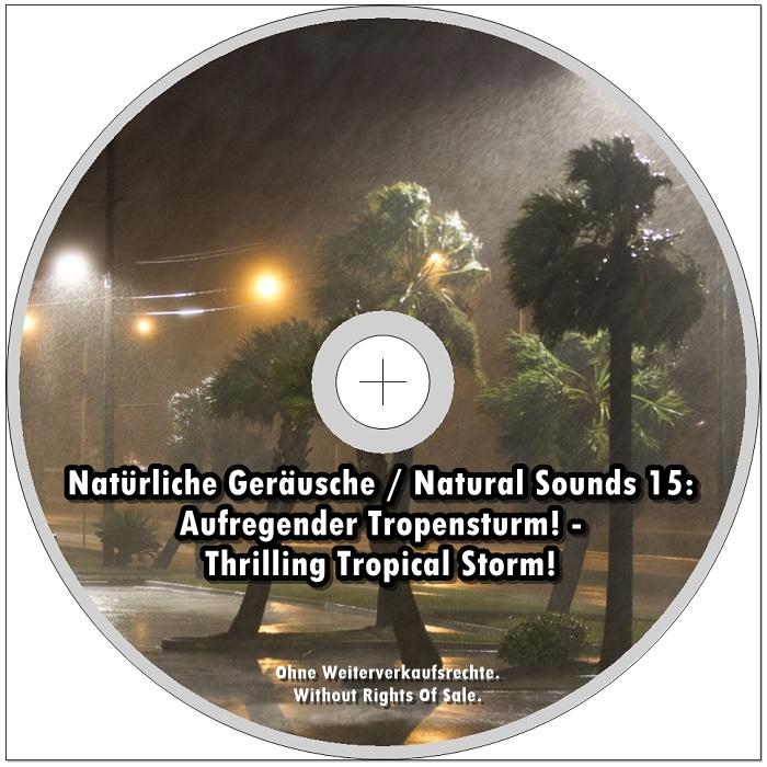 aufregender tropensturm audio cd meditation reiki pilates natur neu ebay