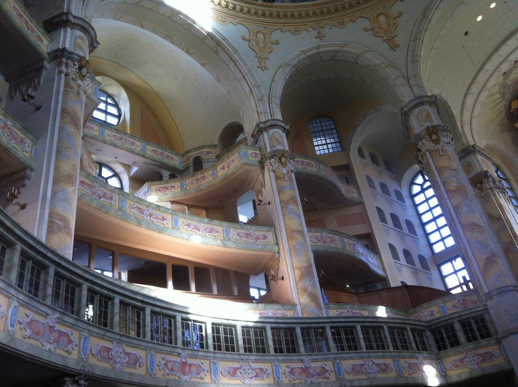 Frauenkirche Dresden, Innenansicht