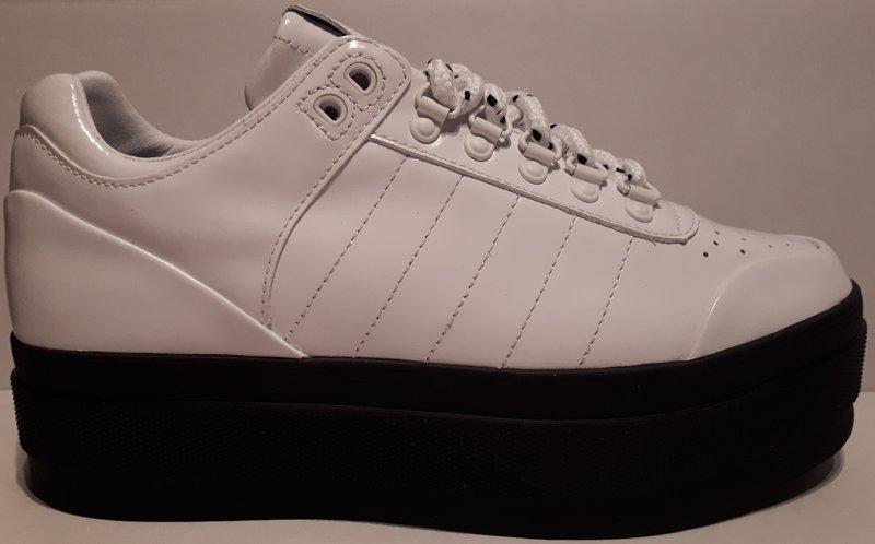 K-Swiss Gstaad Platform Damen Leder Sneaker Gr. 40 Freizeitschuhe neu