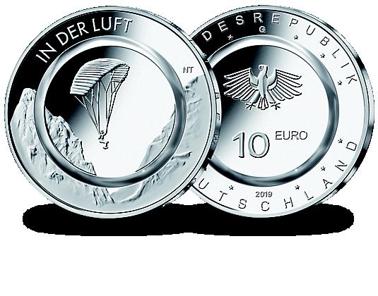 Deutschland 10 Euro Münze 2019 Ausreise Info
