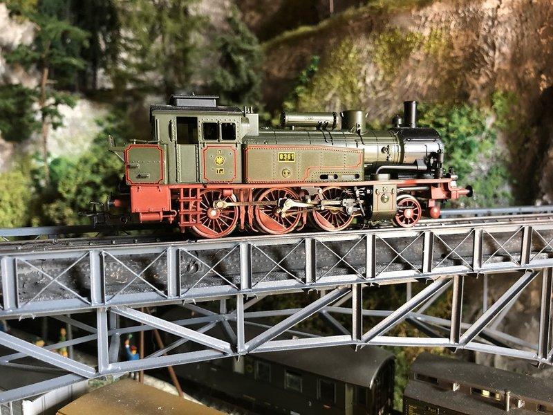 Epoche I Dampflokomotiven  ( Württemberg,KEPV ) 33373485gt