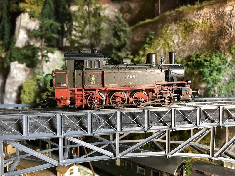 Epoche I Dampflokomotiven  ( Württemberg,KEPV ) 33373487wp