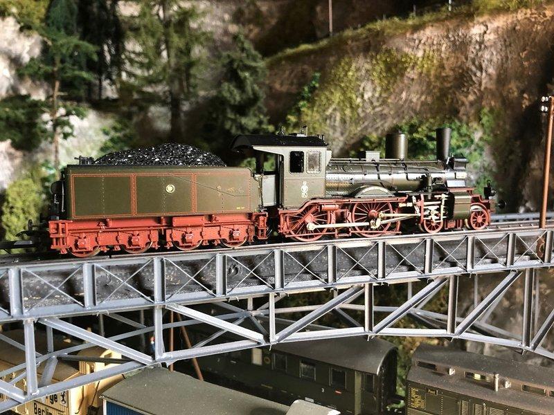 Epoche I Dampflokomotiven  ( Württemberg,KEPV ) 33373506td