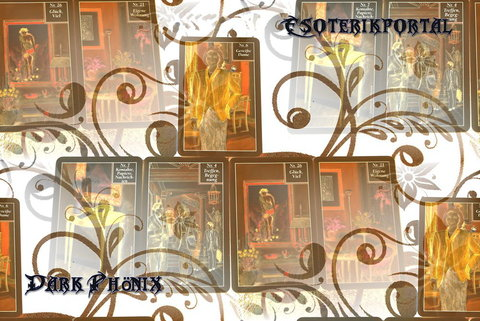 Leiding Wahrsagekarten im Hexenshop Dark Phönix