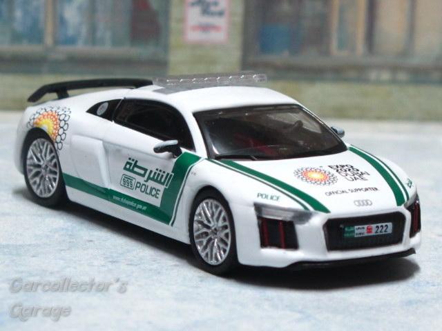 Audi R8 V10 Plus Dubai Police Cars Swifty S Garage