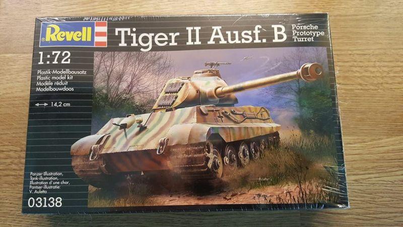 Deutscher Königstiger Panzer im Maßstab 1:72 Militärfahrzeugmodell für