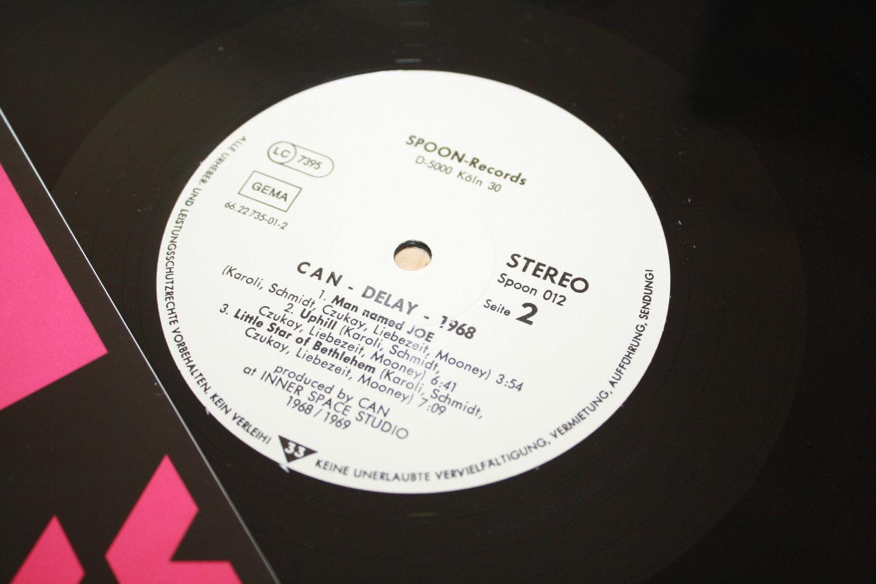 Can Delay 1968 Top Spoon De Krautrock Vinyl Album Ri