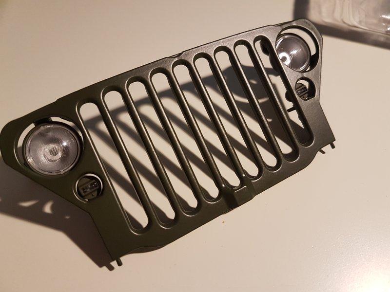 baubericht willys mb jeep im ma stab 1 8 von hachette. Black Bedroom Furniture Sets. Home Design Ideas