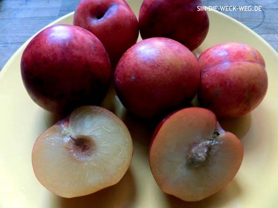 Gelbe Pflaumen - Mandeln - Tonka - Marmelade
