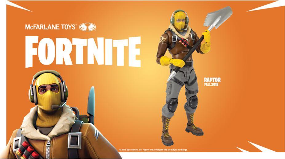 Fortnite Actionfigur Rapture