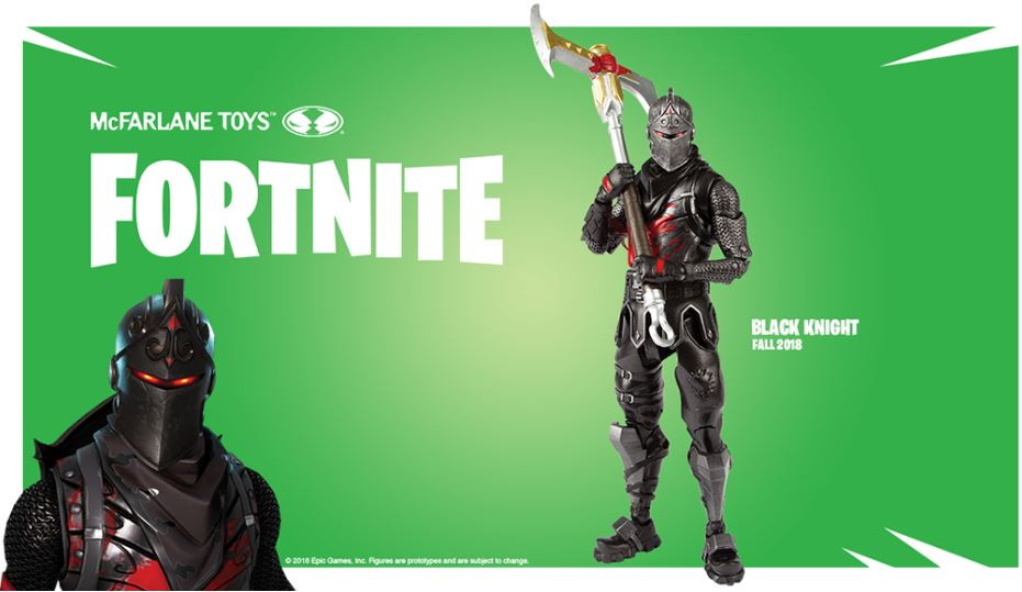 Fortnite Actionfigur Black Knight