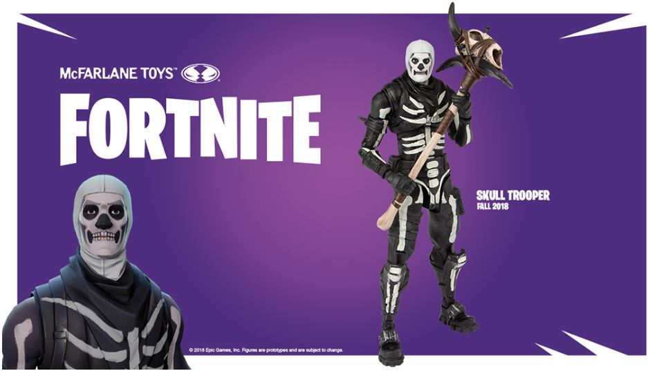 Fortnite Actionfigur Skull Trooper