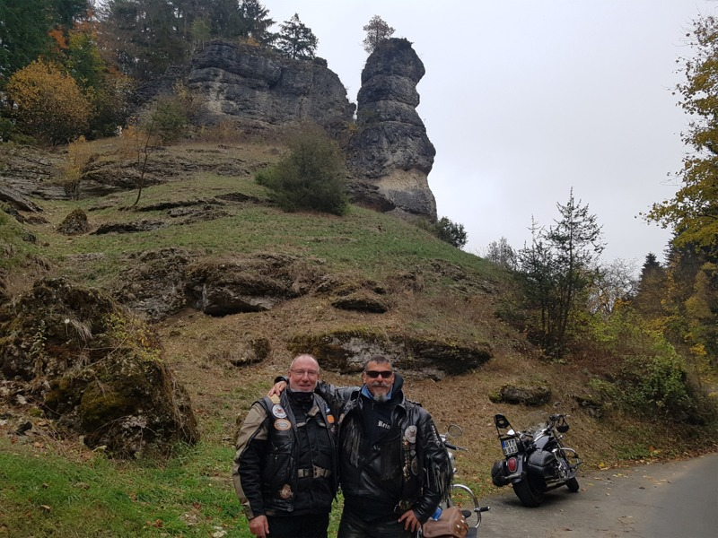 Heino und Reiner im Burglesauer Tal