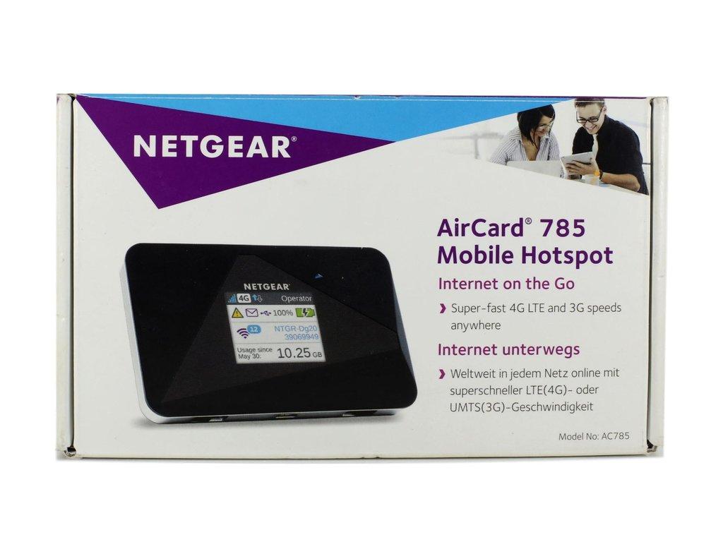 netgear aircard 785s mobiler hotspot wlan lte router. Black Bedroom Furniture Sets. Home Design Ideas