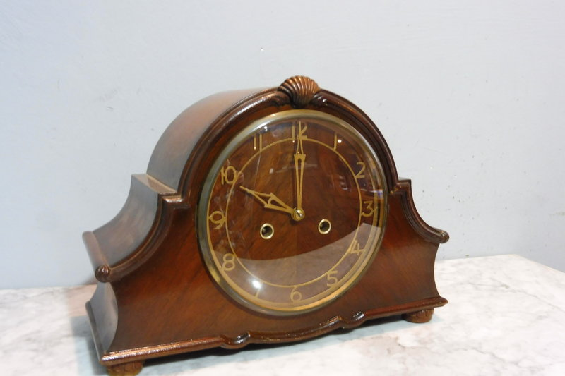 Antique Mantel Englisch Clock Vintage Details Table About Old EHb2IeW9DY